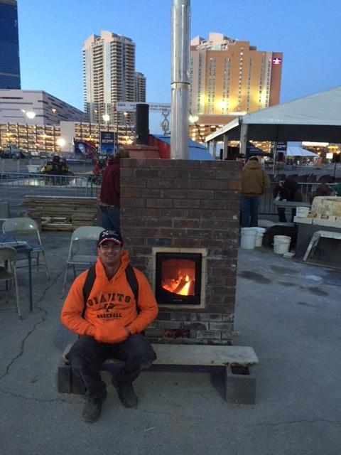 Mason heater association volunteer